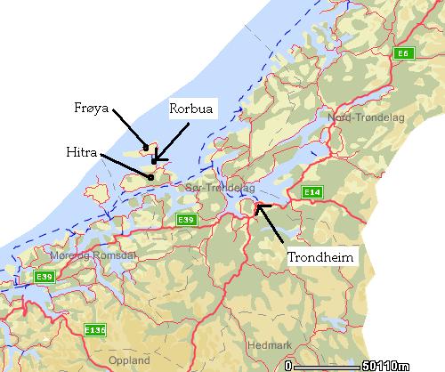 kart hitra Rorbu på Dolmøya (Hitra), noe for deg? kart hitra